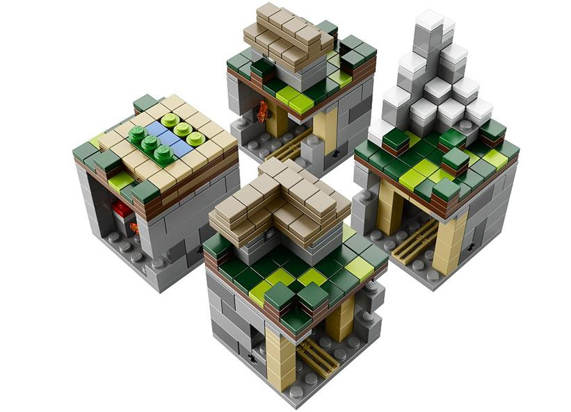 Minecraft Micro World: The Village (21105)