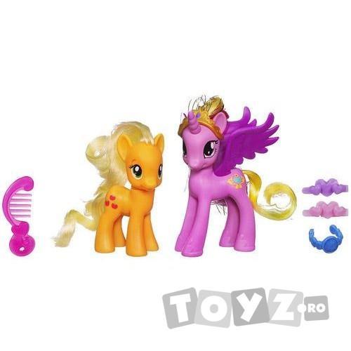 Hasbro My Little Pony – Cadance si Applejack New