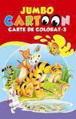Galaxia copiilor Jumbo Cartoon. Carte de colorat – 3