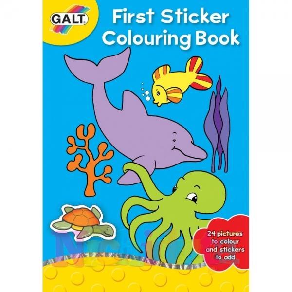 GALT Prima carte de colorat abtipilduri First