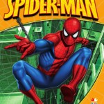 Litera Spider-Man. Carte de colorat 1