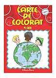 Diana Carte de colorat pentru 4 ani