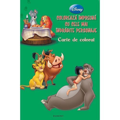 Egmont Carte de Colorat – Coloreaza Impreuna cu Cele Mai Indragite Personaje