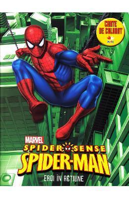 Spider-Man – Eroi in actiune – Carte de colorat