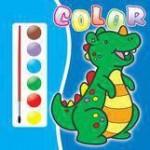 Teora Carte de colorat 1- contine acuarele si pensula