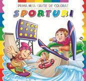 Crist Prima mea carte de colorat. Sporturi