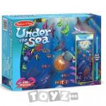 Melissa&Doug Puzzle de podea Adancurile oceanului (100 piese)