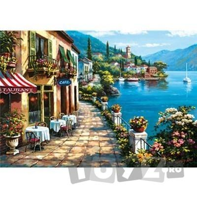 Educa Puzzle Overlook Cafe, Sung Kim 1500 piese