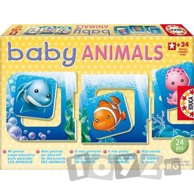 Educa Puzzle 24 Piese Baby Animals