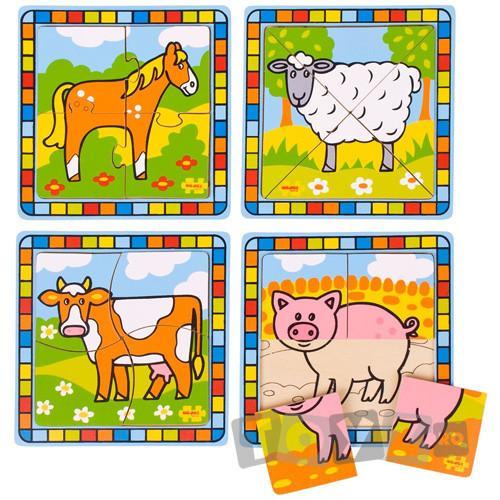 Bigjigs Primul meu puzzle – La ferma