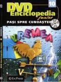 Erc Press DVD Enciclopedia Junior: Pasi spre cunoastere nr.10: Vremea (carte + DVD)