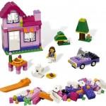 LEGO Cutie LEGO roz din seria LEGO BRICKS