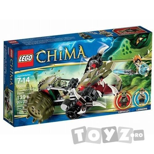 LEGO CHIMA SPINTECATORUL CU GHEARA AL LUI CRAWLEY (70001)