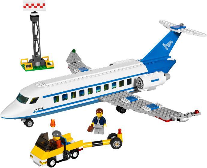 LEGO AVION PASAGERI din seria LEGO CITY.
