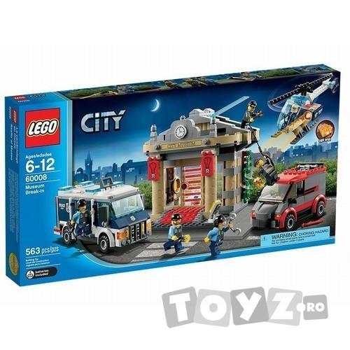 LEGO CITY ASALTUL MUZEULUI – 60008