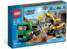 Lego Lego City Transport De Excavator (4203)