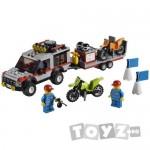 LEGO CITY TRASPORTOR MOTOCICLETE- 4433