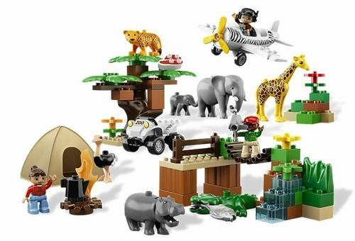 LEGO Photo Safari din seria LEGO Duplo