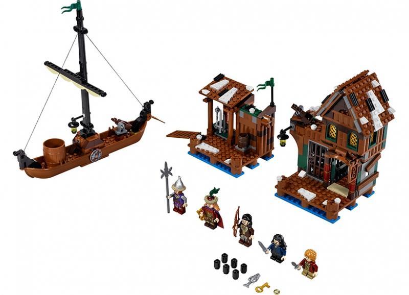 LEGO Urmarirea din orasul de pe lac (79013)