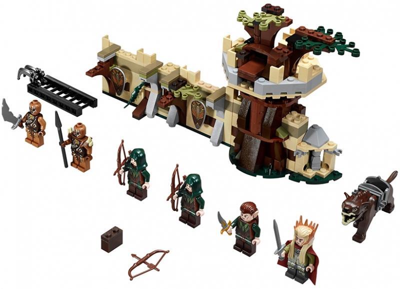 LEGO Armata de elfi Mirkwood (79012)