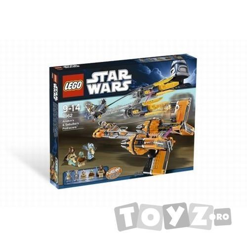 LEGO Anakin Skywalker and Sebulba's Podracers™ – din seria LEGO STAR WARS