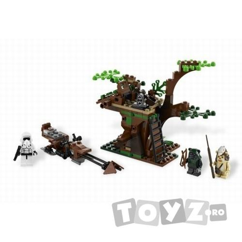 LEGO Atac Ewok™ din seria LEGO STAR WARS