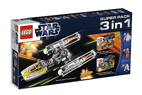 LEGO Super Pack 3 in 1 (66411)