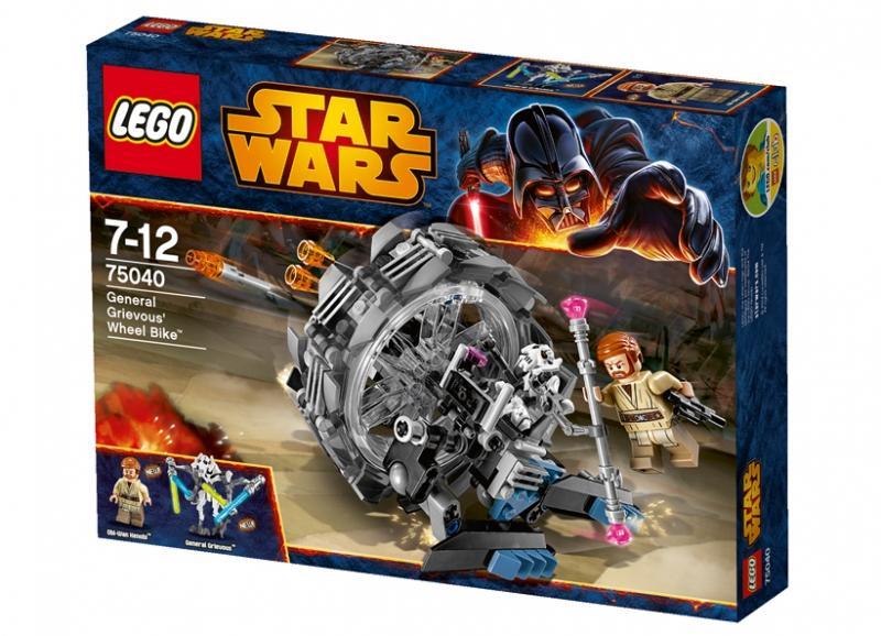 LEGO General Grievous Wheel Bike (75040)