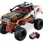 LEGO Masina de teren 4 x 4