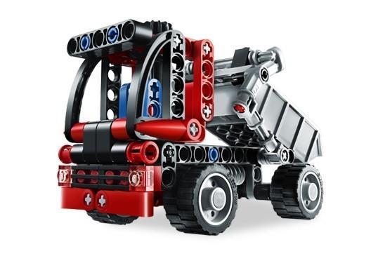 LEGO Mini container truck (8065)