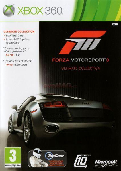 Microsoft Game Studios Microsoft Game Studios Forza Motorsport 3 Ultimate Collection (XBOX 360)