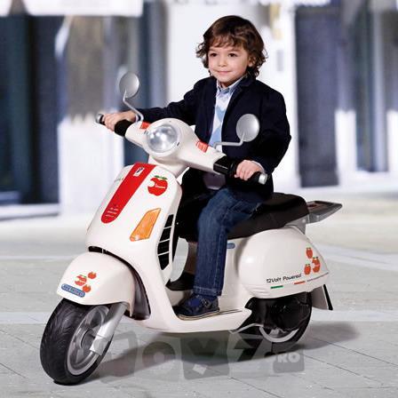 PEGPEREGO Scooter electric Vespa 12V
