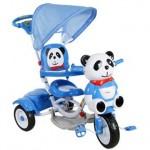 Generic Tricicleta Copii Cu Copertina ARTI Panda 5 Albastru