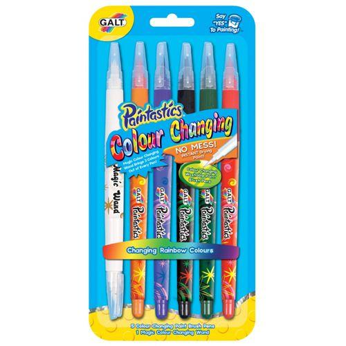 Galt Elmer Paintastics 5 Colour Changing Pens + Magic Wand