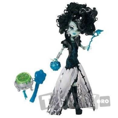 Mattel Papusa Monster High Ghouls Rule – FRANKIE STEIN MTX3712-X3714