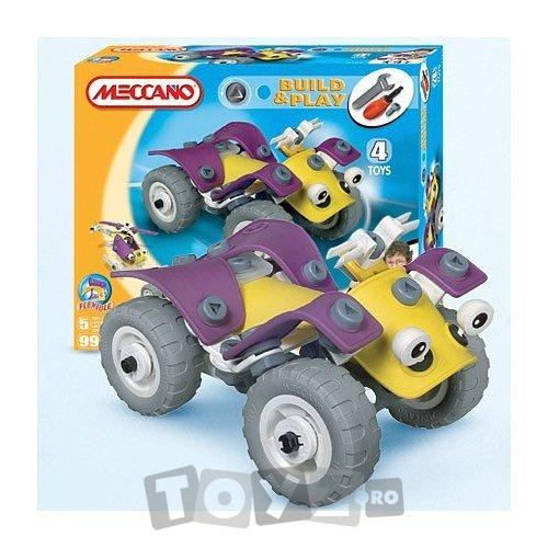 MECCANO Set MECCANO BUILD & PLAY ATV