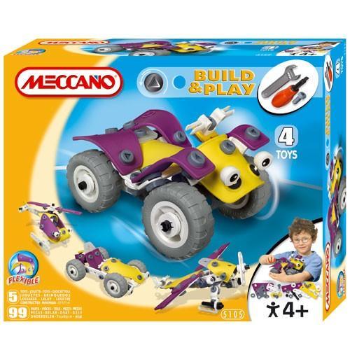 Meccano Meccano – Set Build & Play ATV