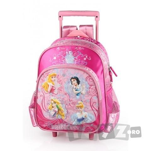 Arsuna Disney Princess Ghiozdan gradinita troler