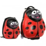Cuties and Pals Set Troler si Ghiozdan Polka the Ladybird