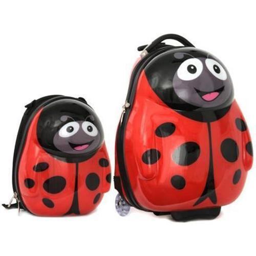 Cuties and Pals Set Troler si Ghiozdan Polka the Ladybird