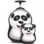 Cuties and Pals Set Troler si Ghiozdan Cheri the Panda