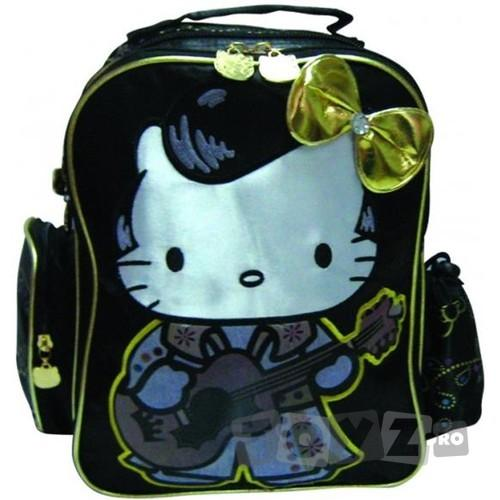BTS Ghiozdan gradinita Hello Kitty Gold