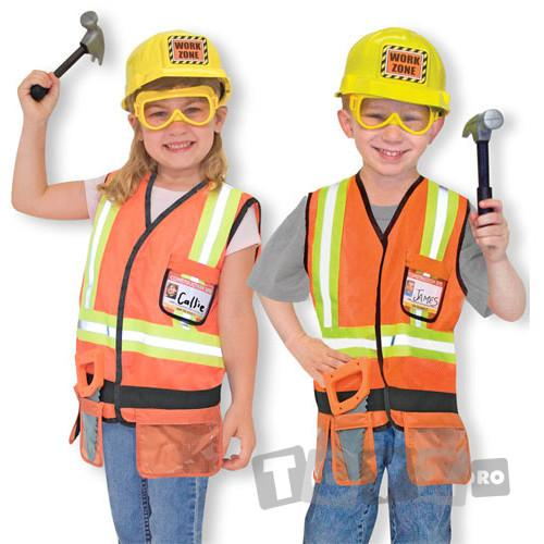Melissa&Doug Costum carnaval copii Constructor