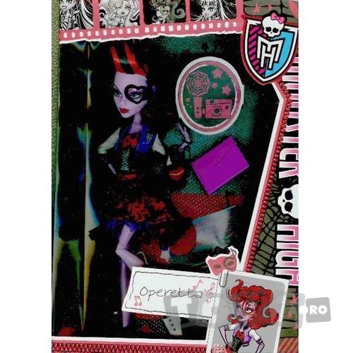 Mattel Papusa Monster High – Operetta MTX4636-BBJ76