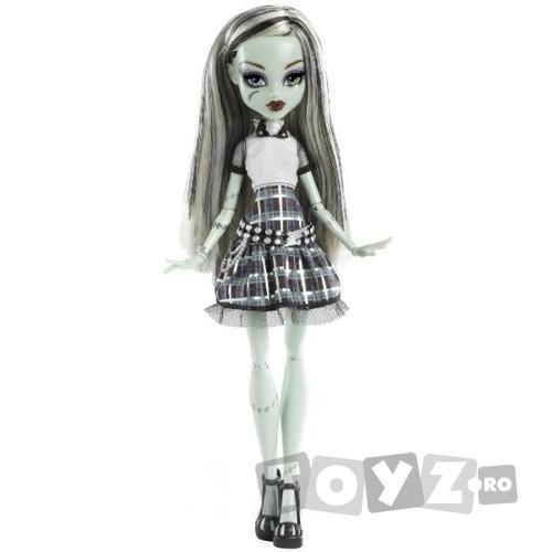 Mattel Papusa Monster High – Interactiva – Frankie Stein MTY0421-Y0424