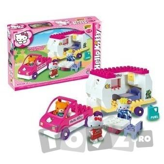 AndroniGiocatolli Cuburi constructie Unico Plus Hello Kitty Rulota
