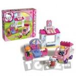 AndroniGiocatolli Cuburi constructie Magazin inghetata Hello Kitty