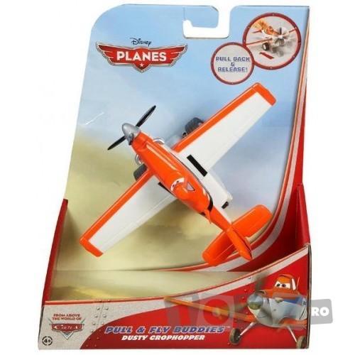 Mattel Avion Planes cu roti – DUSTY CROPHOPPER MTX9497-X9506