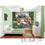 Walltastic Tapet pentru Copii Jungle Adventure