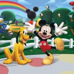 Walltastic Fototapet Disney Mickey Mouse Clubhouse